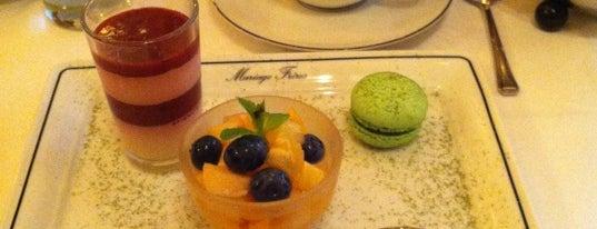 Mariage Frères is one of Mes brunchs favoris à Paris.
