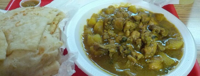 Ali's West Indian Roti Shop is one of T.O..