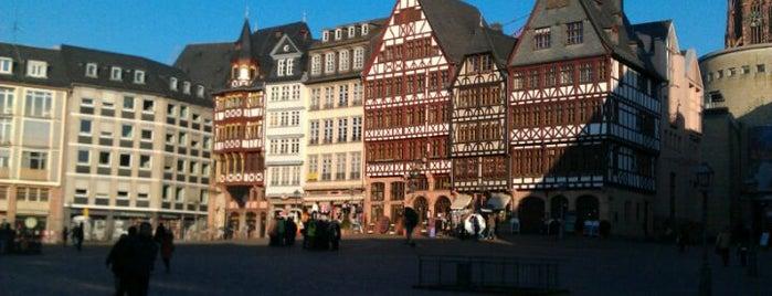 Römerberg is one of Around The World: Europe 1.