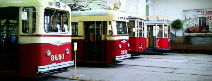 Museum of Electrical Transport is one of Интересный Питер.