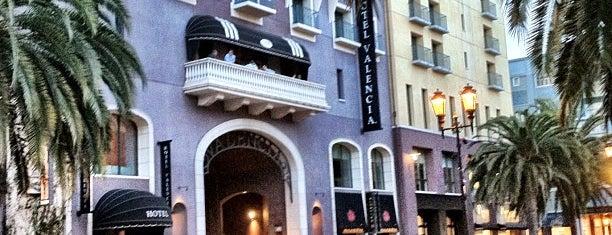 Hotel Valencia Santana Row is one of Peter : понравившиеся места.
