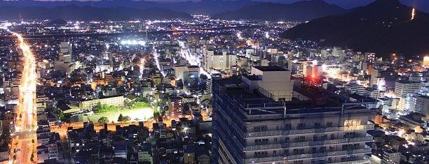 岐阜シティ・タワー43 is one of 日本夜景遺産.