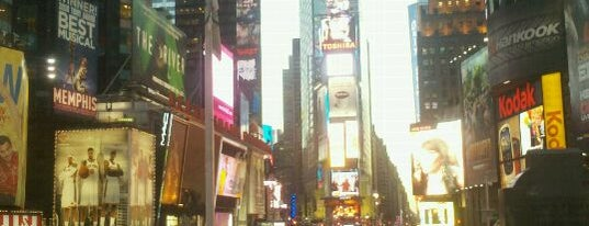 Times Square is one of New York Favorites.