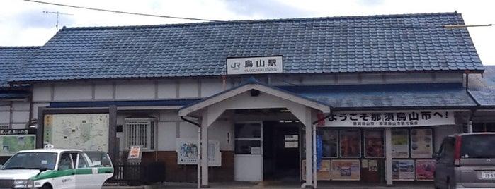 Karasuyama Station is one of JR 키타칸토지방역 (JR 北関東地方の駅).