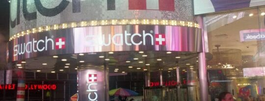 Swatch is one of Rugi's New York.