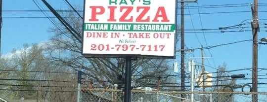 Ray's Pizza is one of Jersey Eats.