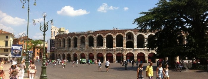 Verona is one of Benátky.
