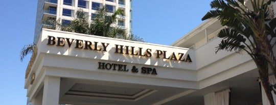 Beverly Hills Plaza Hotel & Spa is one of ROAD TRIP USA · 2016.