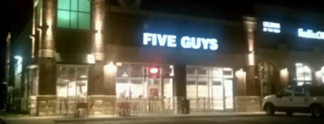 Five Guys is one of Wisconsin.