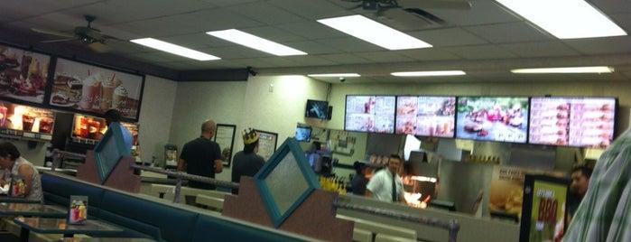 Burger King is one of Orte, die Brian gefallen.