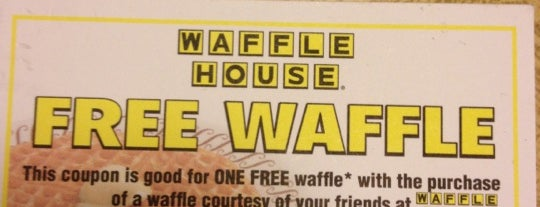 Waffle House is one of Kevin : понравившиеся места.