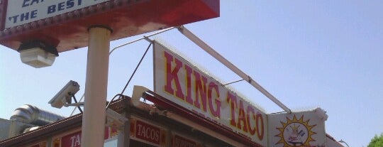 King Taco Restaurant is one of Posti salvati di Christopher.