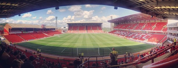 Oakwell Stadium is one of Venues....