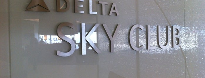 Delta Sky Club is one of Visit.