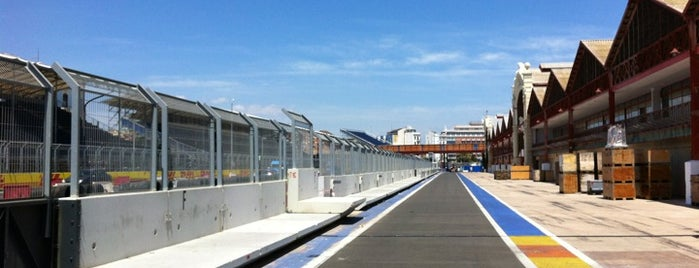 Circuit de Valencia is one of Formula One Track 2014.