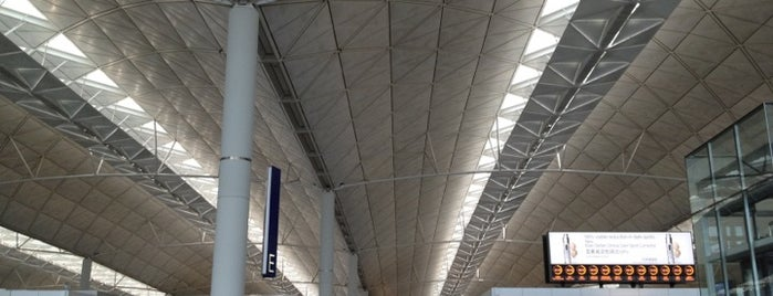 Aeroporto Internacional de Hong Kong (HKG) is one of Airport.