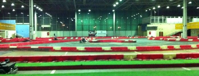 GT Karting is one of Картинг в Москве.