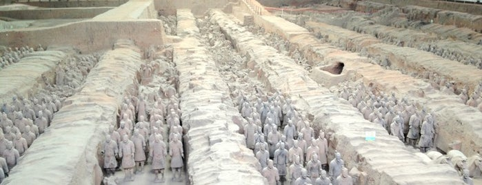 Museum of the Terracotta Warriors and Horses of Qin Shihuang is one of wonders of the world.