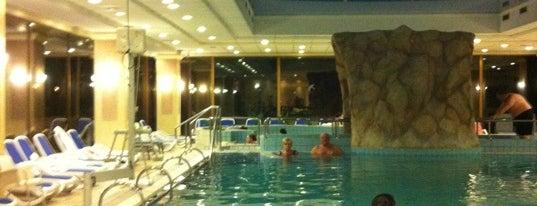 Danubius Health Spa Resort Margitsziget is one of Gespeicherte Orte von Hardy.