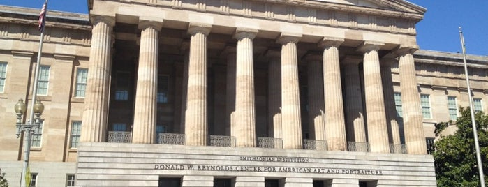 National Portrait Gallery is one of Washington D.C..