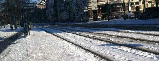 Tramhalte Alexanderplein is one of Alle tramhaltes van Amsterdam.