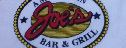 Joe's American Bar & Grill is one of Tempat yang Disimpan Lizzie.