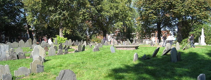 Copp's Hill Burying Ground is one of Boston Freedom Trail Tour.
