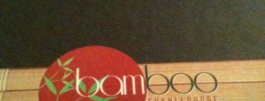 Bamboo Sushi Lounge is one of Posti che sono piaciuti a Lucas.