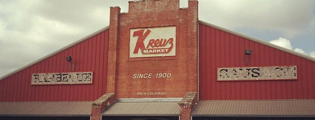 Kreuz Market is one of Texas.