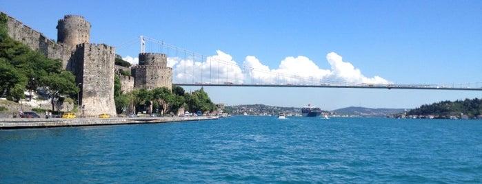 Rumeli Hisarı is one of istanbul gezi listesi.