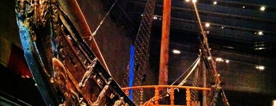 Vasamuseet is one of Lieux qui ont plu à Marby.