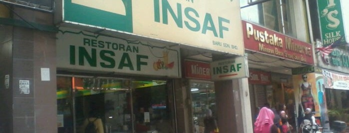 Restoran Insaf is one of Lugares favoritos de S.