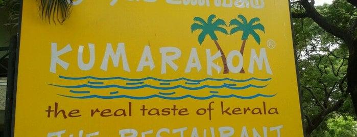Kumarakom is one of Travel Restaurant List.