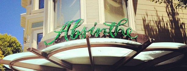 Absinthe Brasserie & Bar is one of SF.