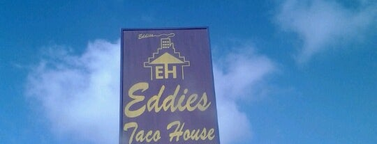 Eddie's Taco House is one of Avelinoさんのお気に入りスポット.