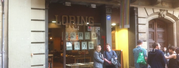 Loring Art is one of Bookstores & Libraries.