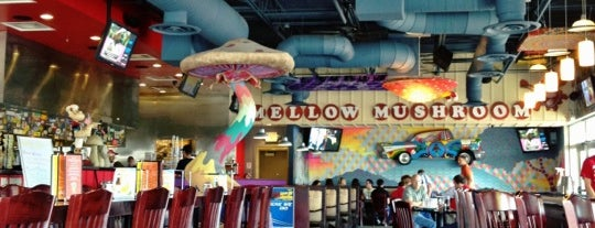 Mellow Mushroom is one of Columbus Favorites.