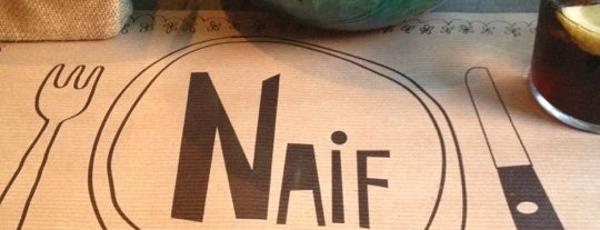Naif Sandwich & Bar is one of ¡Mmmmmadrid!.