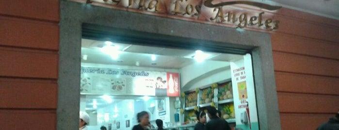Taquería Los Ángeles is one of Tempat yang Disukai David.