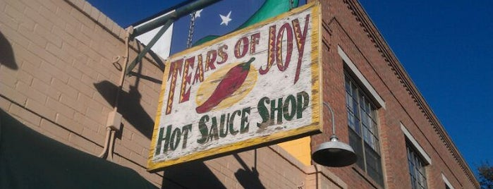 Tears of Joy Hot Sauce Shop is one of SXSW.