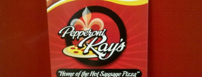 Pepperoni Ray's is one of Tempat yang Disimpan Ben.