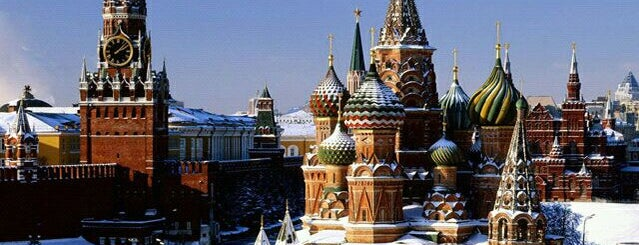 The Kremlin is one of Москва: 96 hours in Moscow.