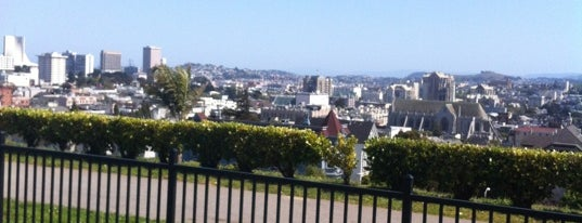 Alta Plaza Park is one of 101 places to see in San Francisco before you die.