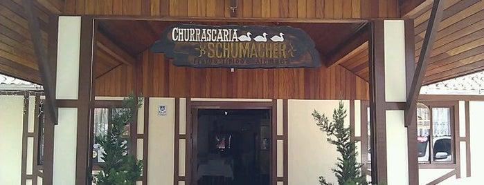 Churrascaria Schumacher is one of Orte, die Luis Gustavo gefallen.