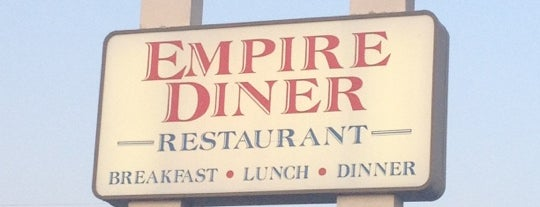 Empire Diner is one of Mimi 님이 좋아한 장소.