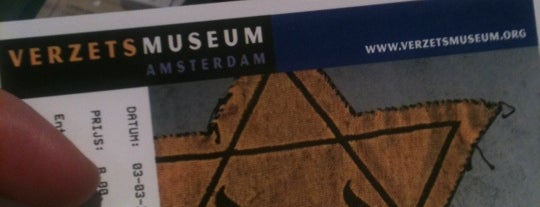 Verzetsmuseum is one of Museumnacht Amsterdam 2013.