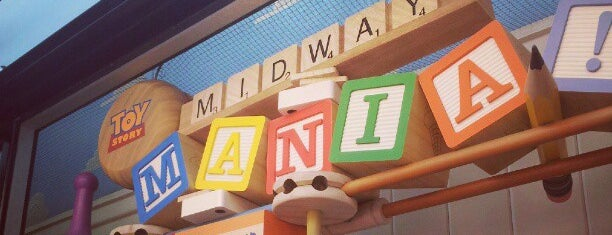 Toy Story Mania! is one of Walt Disney World.