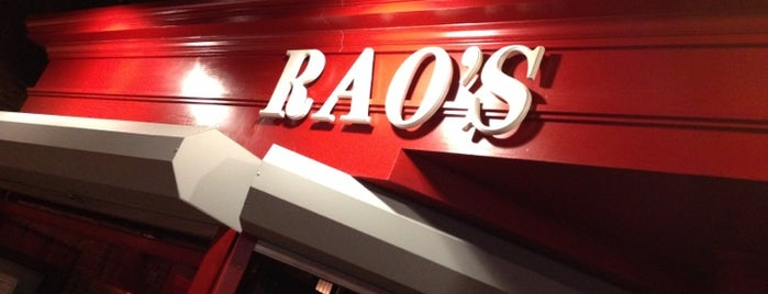 Rao's is one of First List to Complete.