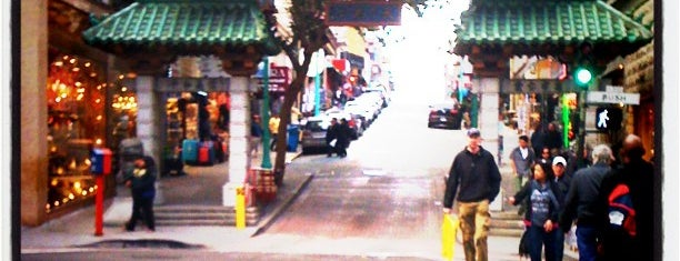 Chinatown Gate is one of Bay Area.