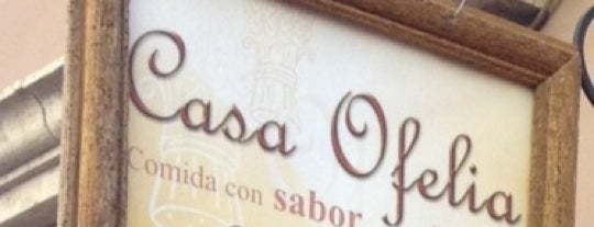 Casa Ofelia is one of Comer en GTO.